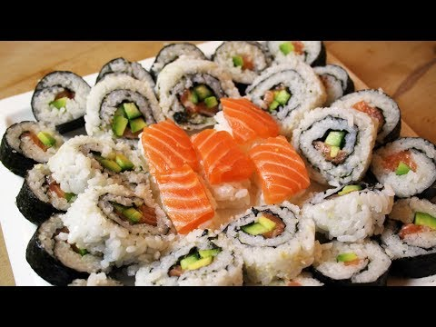 comment faire des sushi et california rolls recettes. Black Bedroom Furniture Sets. Home Design Ideas